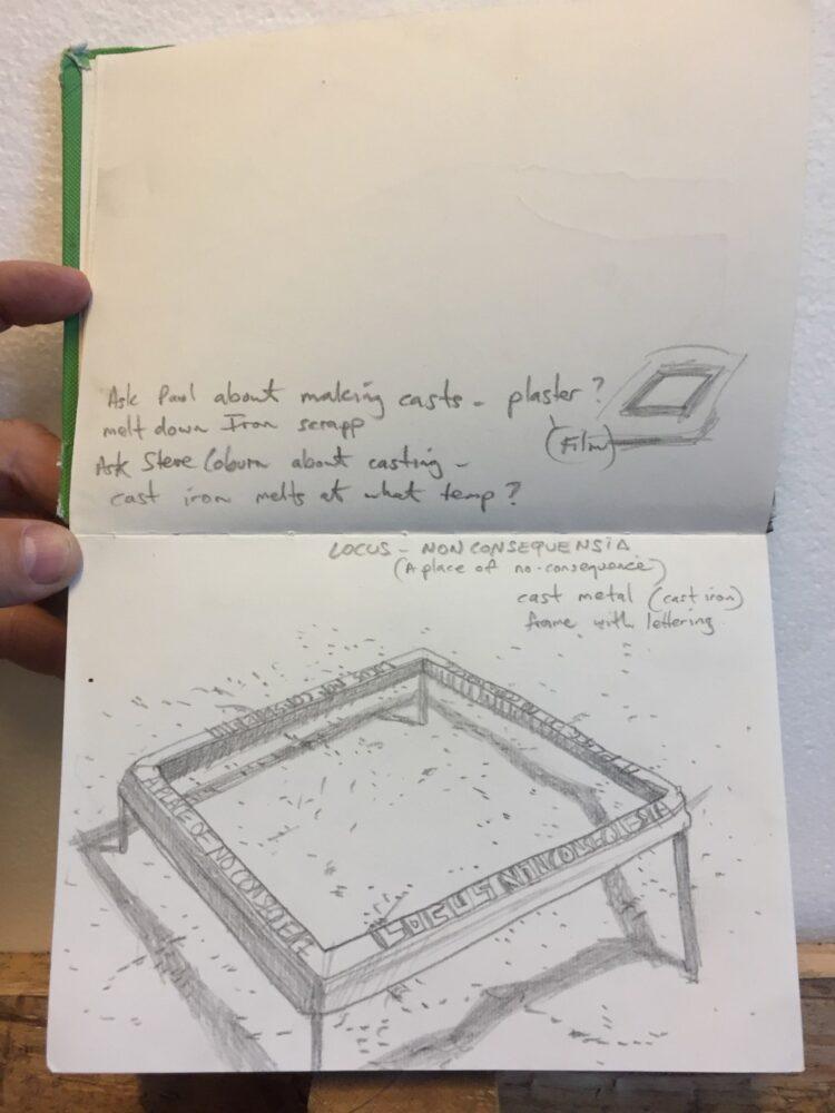 Locus frame Hadyn's original concept